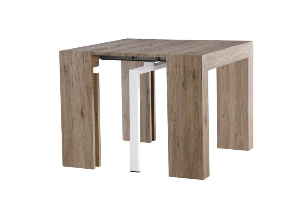Extendable Space Saving Modern Table