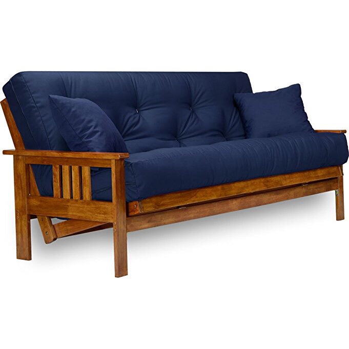 Navy Blue Futon Couch And Lolesinmocom