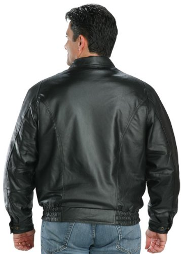 439a09ce312240 Top 10 Best Leather Bomber Jackets for Men in 2019  Reviews – TheZ6